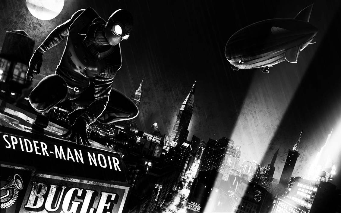 Spider Man Noir Wallpaper By S1nwithm3 On Deviantart