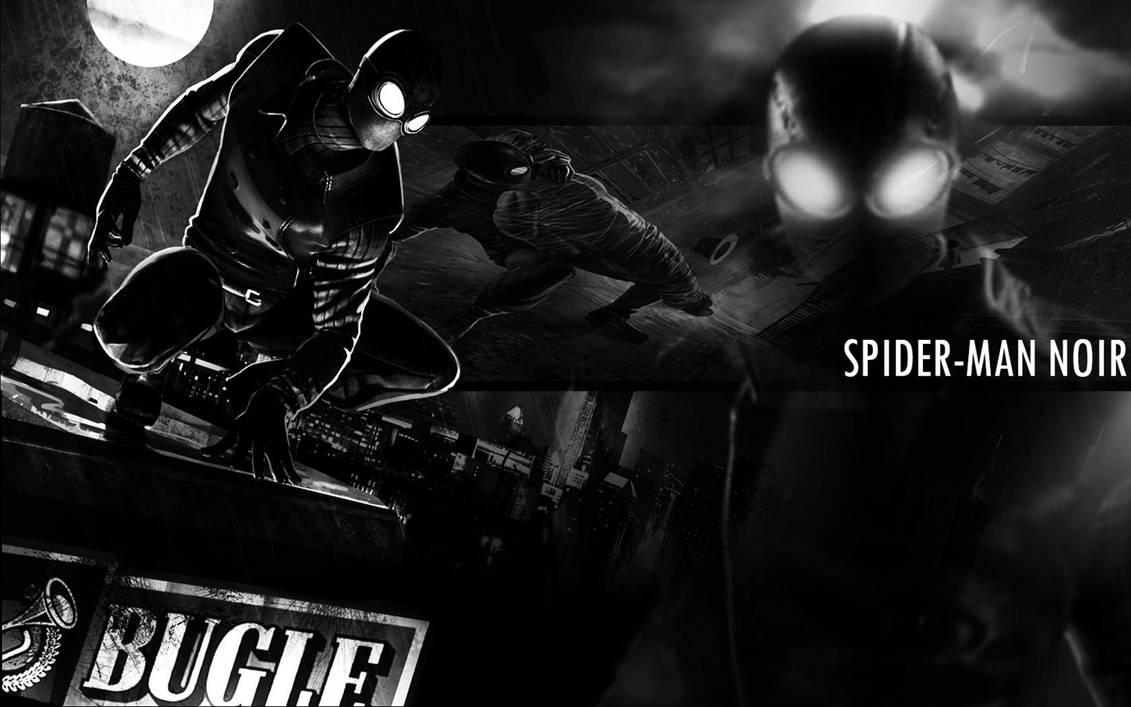 Spider Man Noir Wallpaper Final Edit By S1nwithm3 On Deviantart