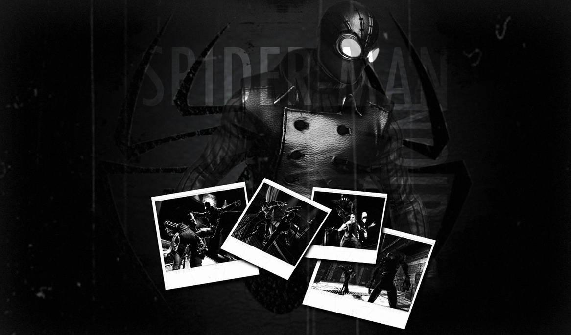 Spider Man Noir Wallpaper 2 By S1nwithm3 On Deviantart