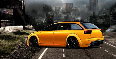 Audi A4 by lamuz