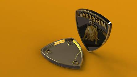 Lamborghini logo/Emblem another render by lamuz