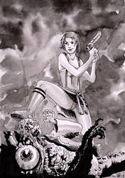 Swollen Resident Evil by emalterre