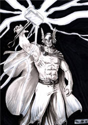 Thunder of Thor by emalterre
