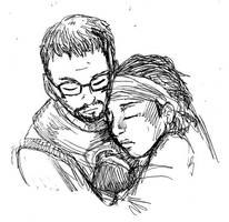 Gordon and Alyx sketch by jameson9101322