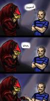 Shepard...Wrex... by jameson9101322