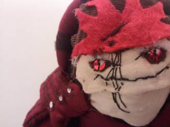 Wrex Plushie face closeup by jameson9101322