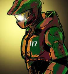 Spartan117 by jameson9101322