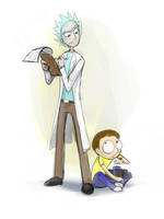 What are you doing down there, Morty? by jameson9101322