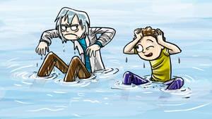 Rick And Morty Lake Landing by jameson9101322