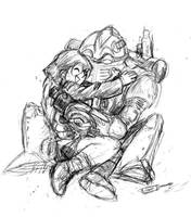 Robo and Lucca by jameson9101322