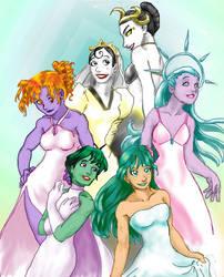 Princessly Brides by jameson9101322