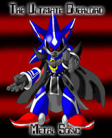 Metal Sonic - Sonic Heroes by LordShmeckie