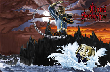 Cloudscratcher: Holy Diver Parody by LordShmeckie