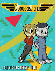 Cloudscratcher Coloring and Activity Book by LordShmeckie
