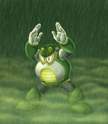 Toad Man Warmup Pic by LordShmeckie