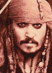 Jack Sparrow - Cross Stitch by shingorengeki