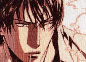 Asami-Manga - Cross Stitch 2 by shingorengeki