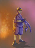 kungfu kid by jibrinarts