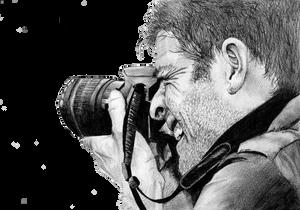 Misha Collins - 2 by GraphiteFox