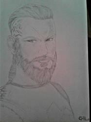 Ragnar Lothbrok by dkzoom