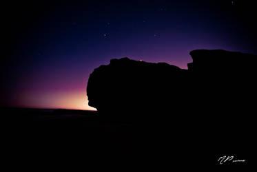 Silhouette sunrise by unifx