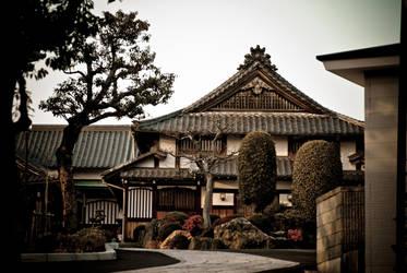 Showa-Ku Temple Japan Nagoya by unifx