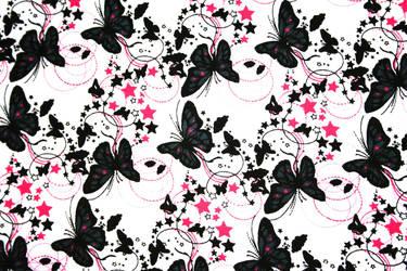 Butterfly-Star-Texture by MidnightCraze