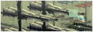 Zentran Military Industrial Complex by AtomicGenjin