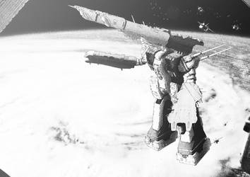 Satellite photo, SDF-01 Macross by AtomicGenjin