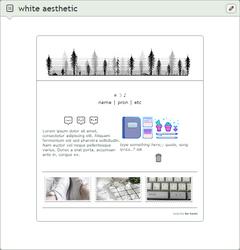 box | white aesthetic by bo-tanic