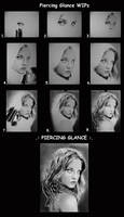 .:PIERCING GLANCE:. WIPs by Lorelai82