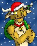 Christmas Time is Here Minotaur Style by Salvestro