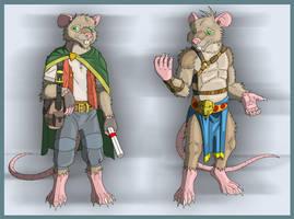 Malachy the Rat by Salvestro