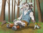 Spotted Minotaur by Salvestro