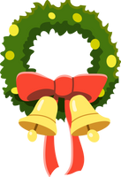 MLP Resource: Heart's Carol Wreath by mewtwo-EX