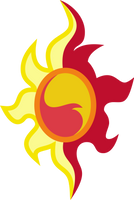 MLP Resource EQG: Sunset Shimmer's Cutie Mark by mewtwo-EX