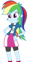 MLP EqG: Rainbow Dash by mewtwo-EX