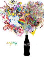 Coca Cola by xpurplepenguin