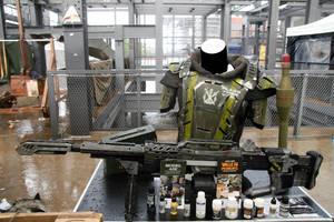 NERF Longshot Carson Defense Concepts SRN-001 by KlotziDotCom