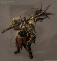 Diablo Undead King by NuMioH