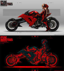 Techy on Bike by NuMioH