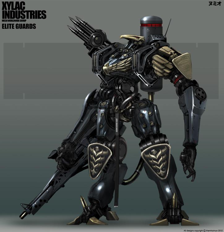Elite Guards (Eagle Heads) by NuMioH