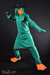 Agent P Cosplay by Oloring