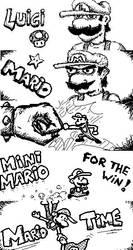 Miiverse art - New Super Mario Bros U by Oloring