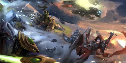 The battle begin by huykho192