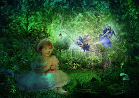 Enchanted: The Garden Fairies by Digimaree