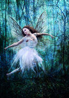 Blue Fairy by Digimaree
