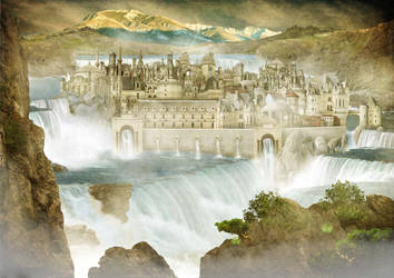 City of Mist by Digimaree