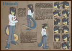 Hannah, Reference sheet 2 of 8 by Morgoth883