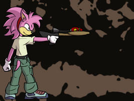 Amy Rose by Morgoth883